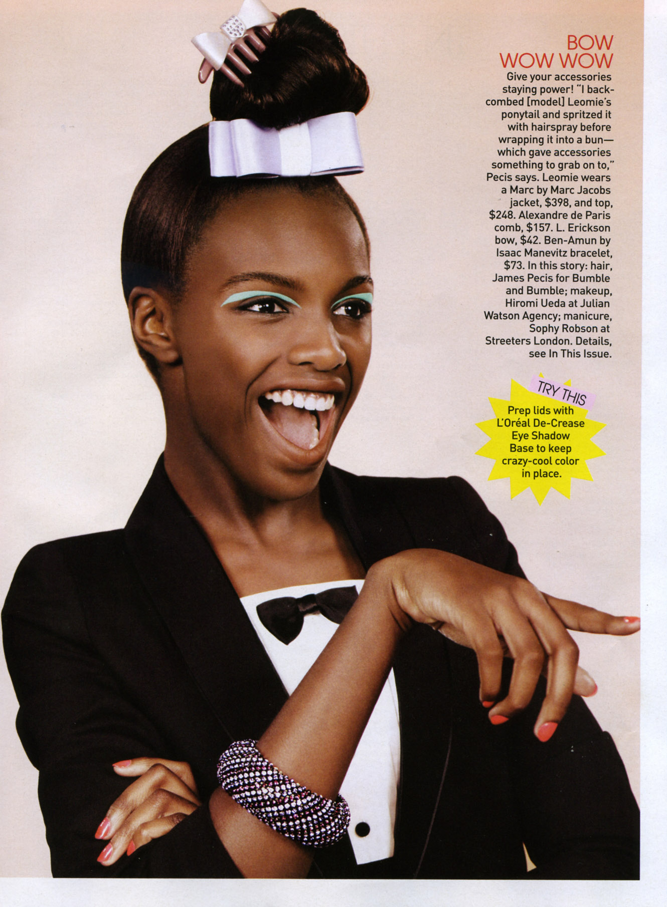 Get Excited: London Model Leomie Anderson Is Our New Columnist foto